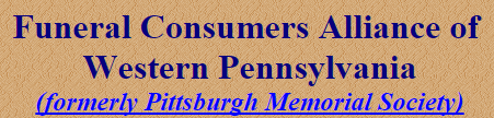 Funeral Consumers Alliance of Western Pennsylvania- HOME
