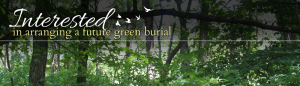 Arrange a Future Green Burial
